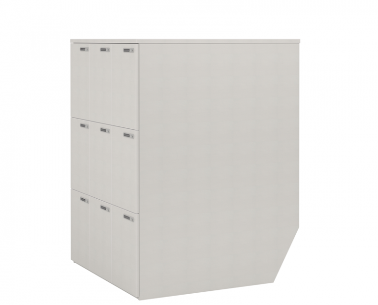 Simple and Effective White Lockers