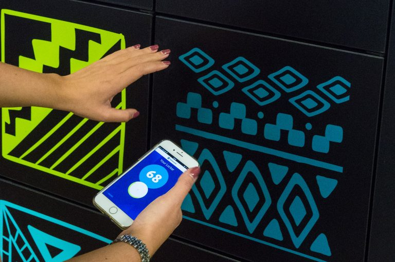 Unlock Your Accessorised Locker By Your Phone