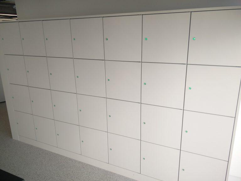 Keyless Lockers for Retail Workers